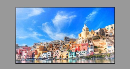 Samsung QM85D 4k 85 inch Display Rental